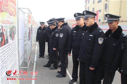 宁夏司法警官学院组织观看