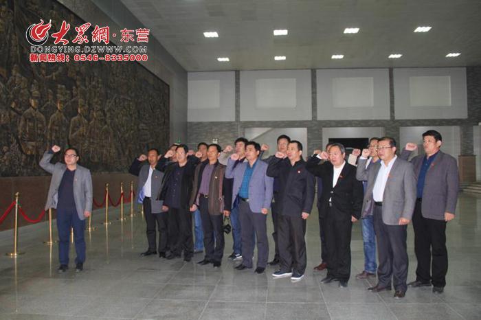 (记者 李江峰 通讯员 陈斌)11月1日上午,东营市实验中学董集支教