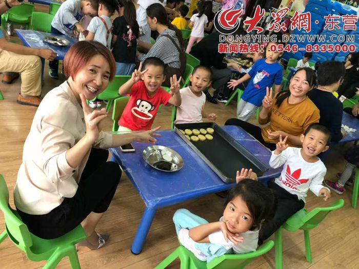 """东营区阳光幼儿园开展""""爱在阳光,忆满中秋""""主题活动"""