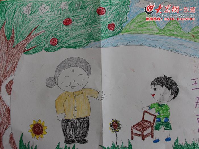 园举行 传承好家风 共圆中国梦 绘画比赛