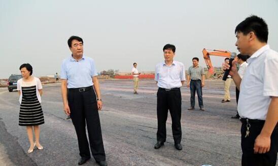 市委书记刘士合到东营港城和东营港经济开发区调研