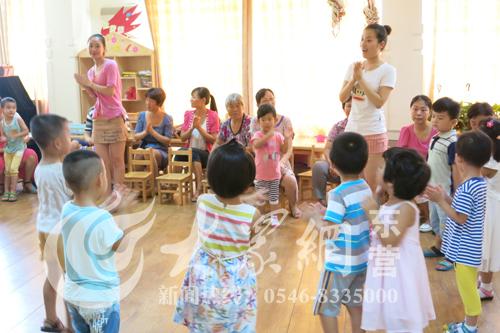 东营市实验幼儿园开展亲子培训 让孩子体验快乐入园图片