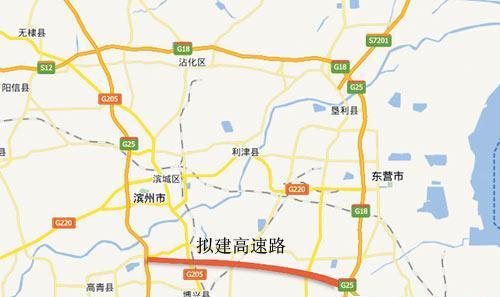 长深高速拟建高青至广饶段 淄博东营滨州等地联网贯通