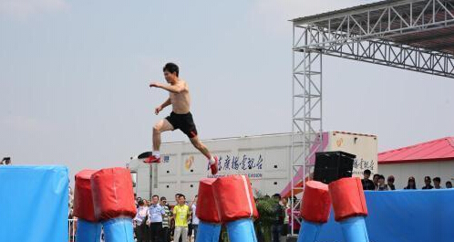 山东综艺频道2015《快乐向前冲》东营垦利赛