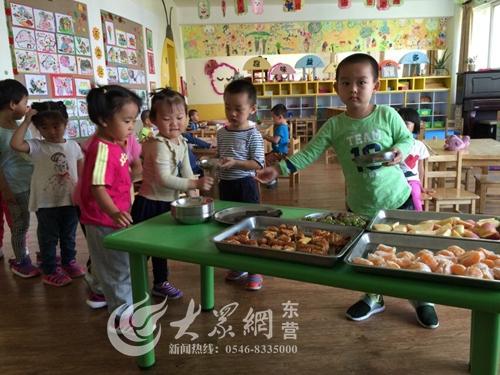 """东营实验幼儿园开展""""中秋月饼品尝会""""活动"""