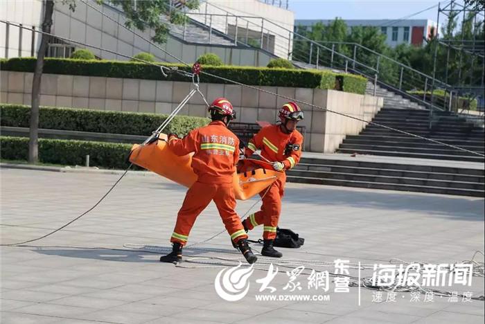 东营市地震演练救援综合应急在广饶县举行华罗庄兴学校高中部图片