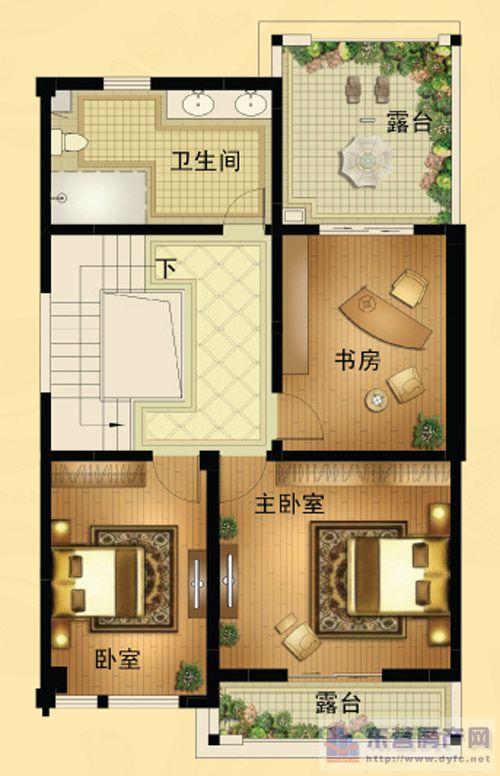 15米x15米别墅设计图
