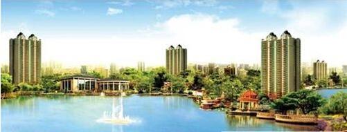 恒大黄河生态城 欧式风情园林诗意生活