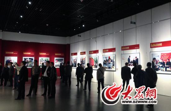 托起农民心中的中国梦》大型图片展4月9日在山东省博
