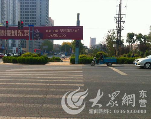 路路口人行横道红绿灯去哪儿了