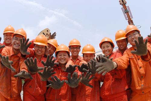 """1-1《石油的""""90""""后》作者:王国章 单位:孤岛采油厂_副本.jpg"""