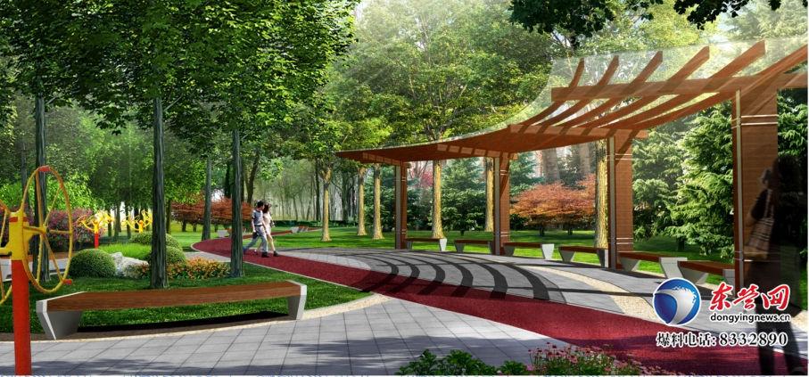 广饶县10处街头游园设计方案确定
