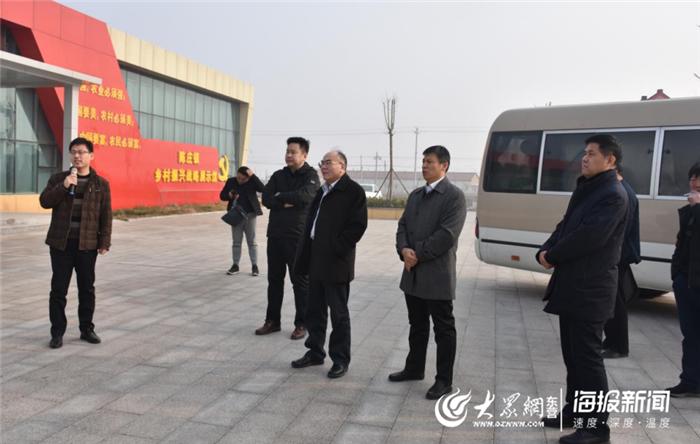 山东省交通运输厅领导来利津县检查指导工作